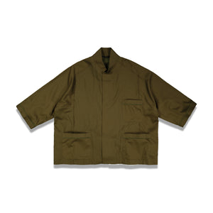 Rifleman S/S Pyjama Shirt In Khaki