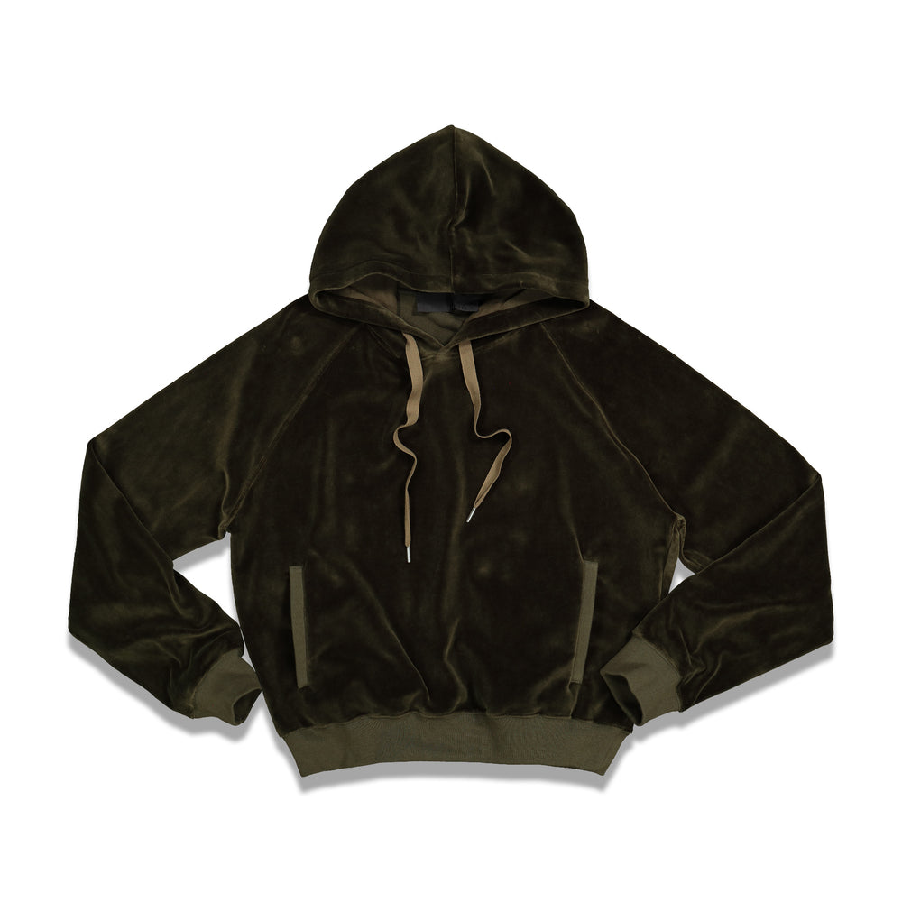 Siouxies Perth Hoodie In Khaki - CNTRBND