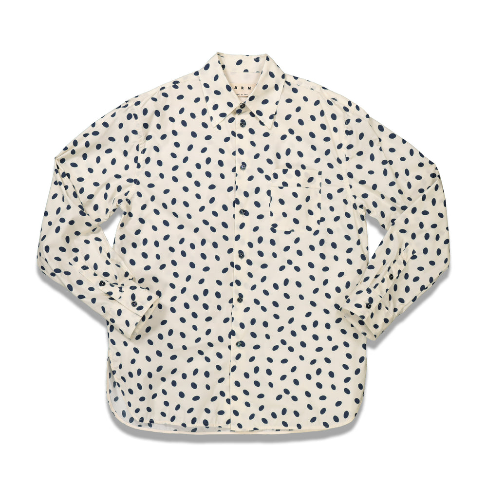 Dots Casual Shirt In White