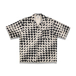 Everest Heart Print S/S Shirt In White