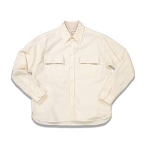 Load image into Gallery viewer, Chest Pockets L/S Shirt In Ivory