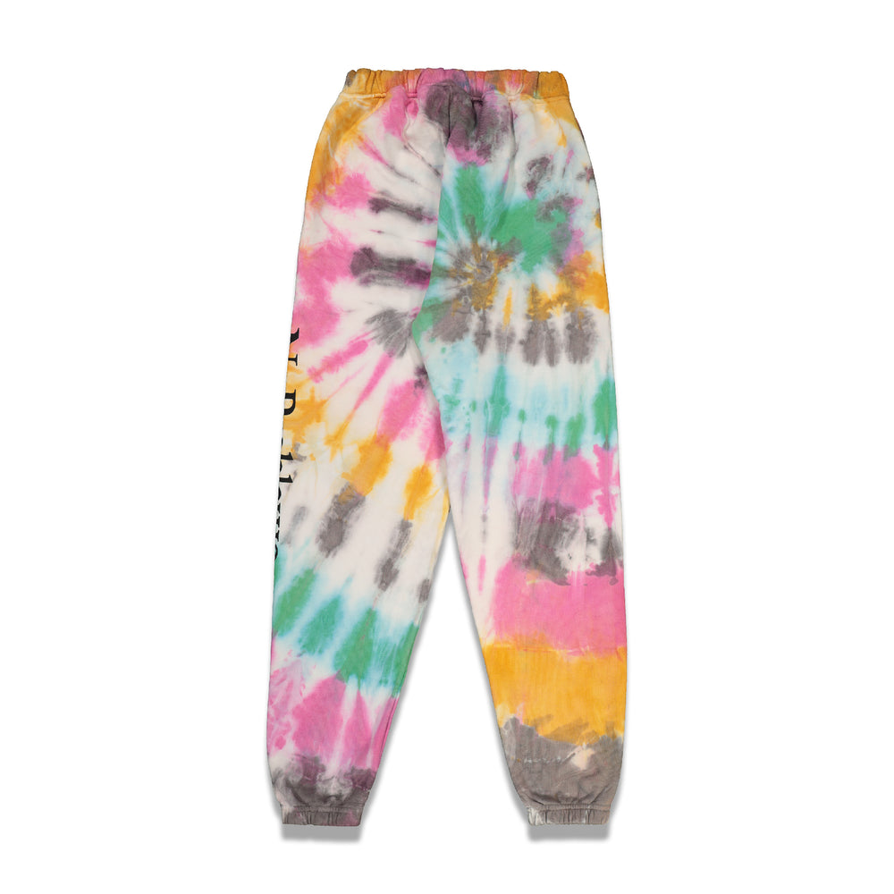 NO PROBLEMO Crusty Dye Sweatpants In Multi