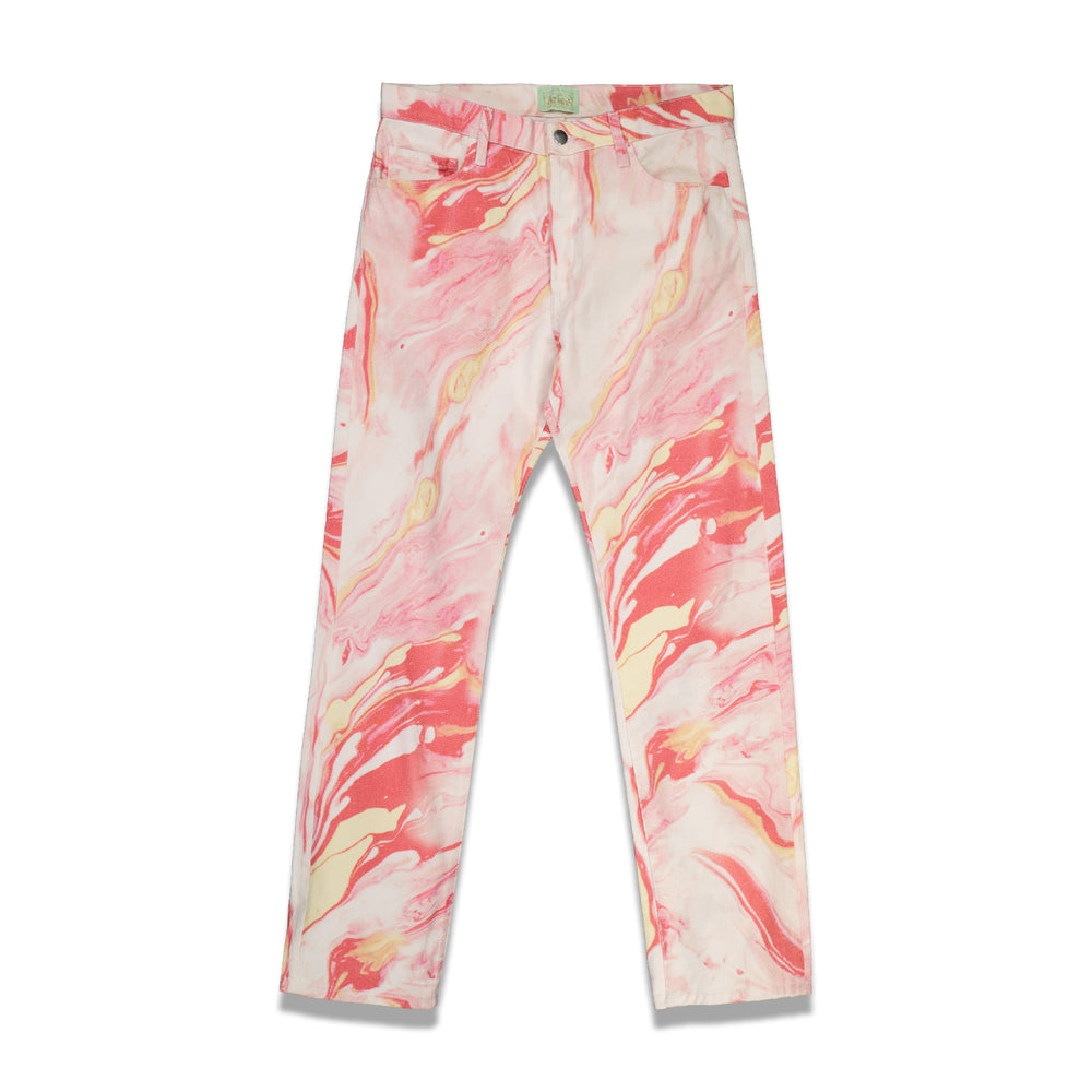 Marble Lilly Jeans In Pink