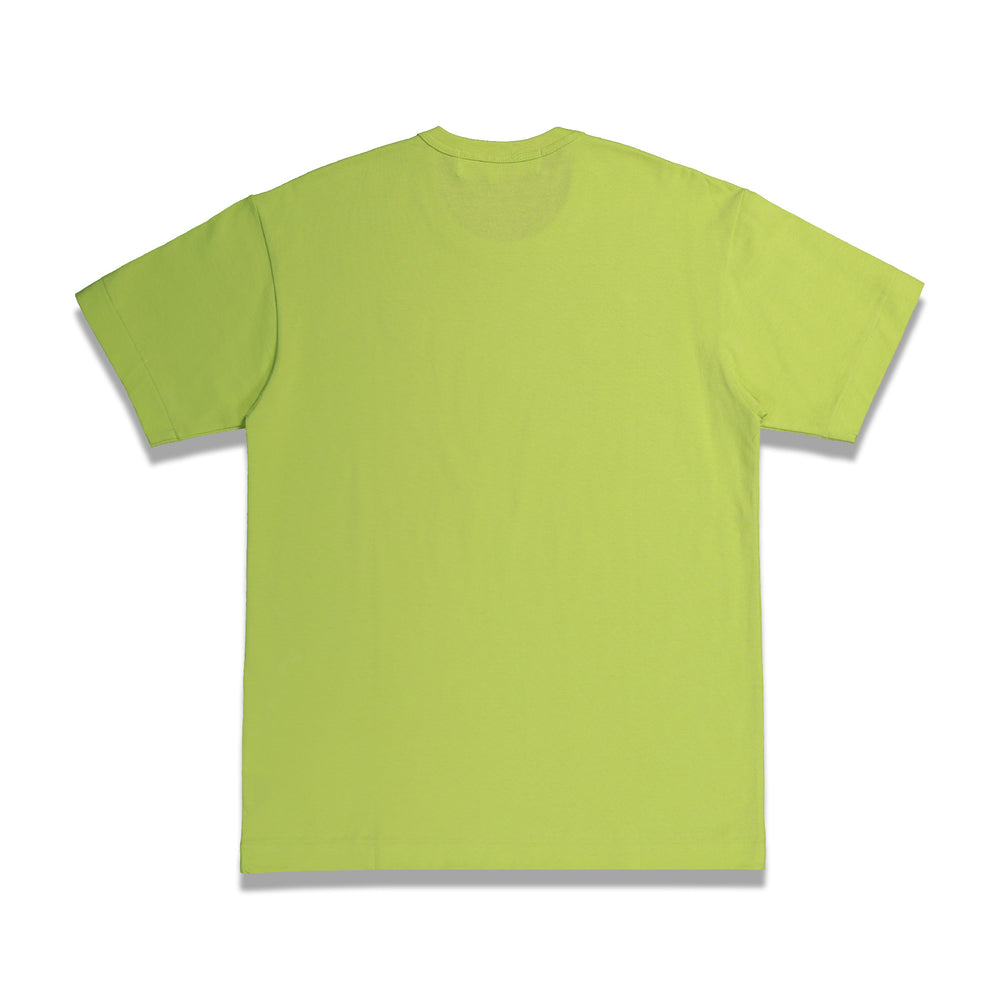 Classic Play T-Shirt In Neon Green - CNTRBND
