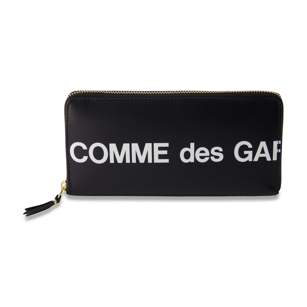 Big Logo Long Portfolio Wallet In Black - CNTRBND
