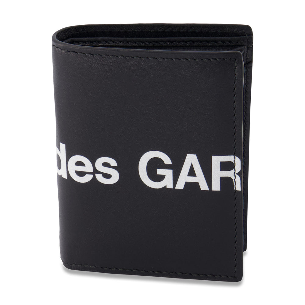 Big Logo Card Holder Wallet In Black - CNTRBND