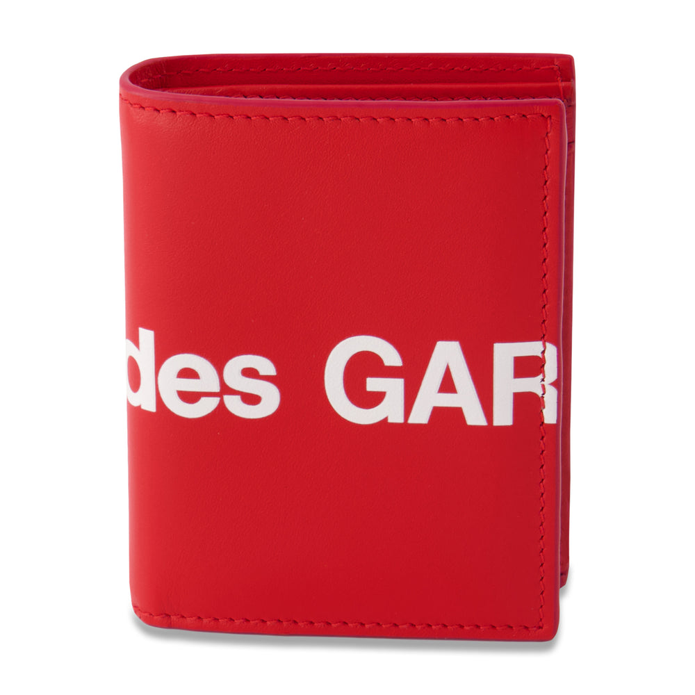Big Logo Card Holder Wallet In Red - CNTRBND