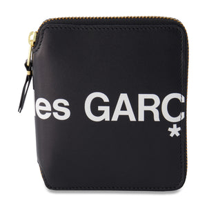 Load image into Gallery viewer, Big Logo Short Full Zip Wallet In Black