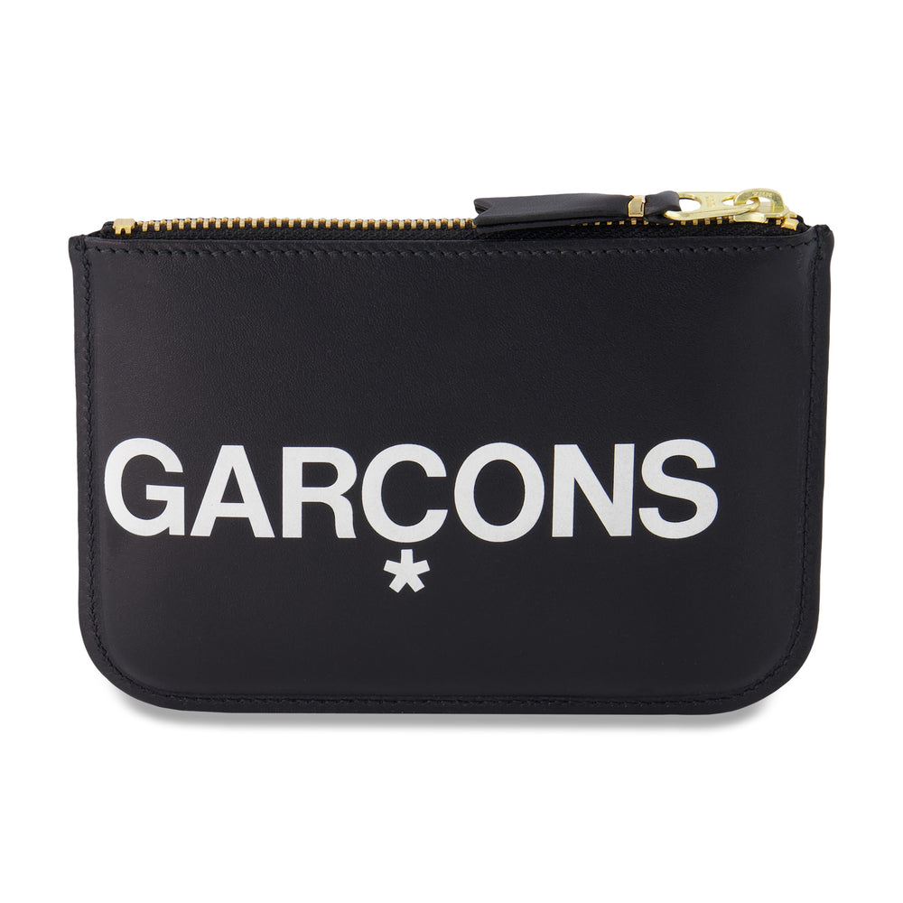 Big Logo Zip Pouch In Black - CNTRBND
