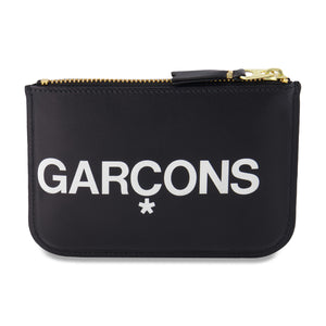 Big Logo Zip Pouch In Black