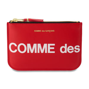 Big Logo Zip Pouch In Red - CNTRBND
