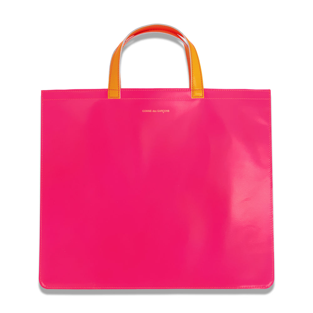 Two Tone Fluorescent In Pink/Yellow
