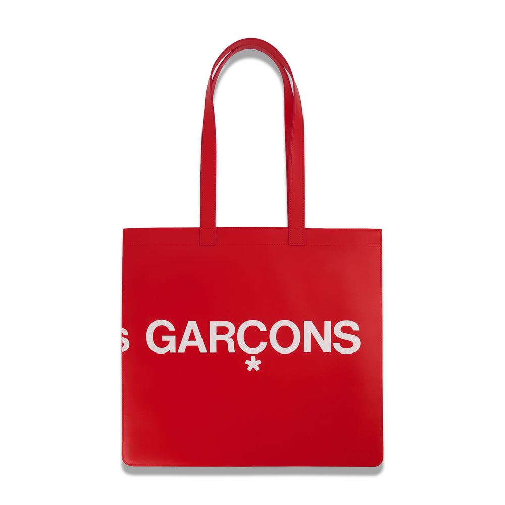 Big Logo Tote In Red