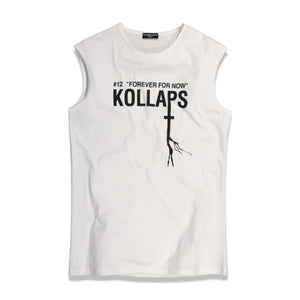 RS Archive Redux Kollaps Sleeveless T-Shirt In White