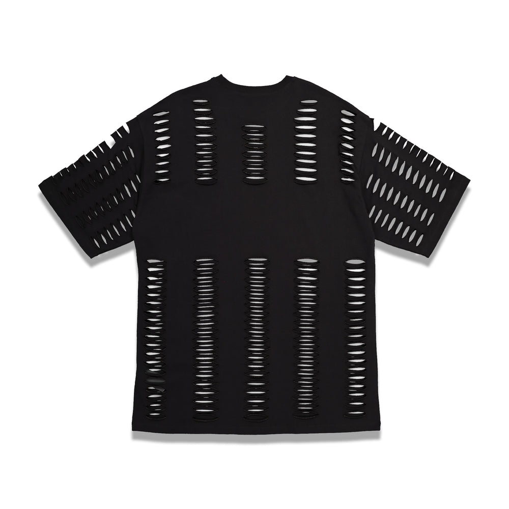 RS Archive Redux Cuts & Print T-Shirt In Black