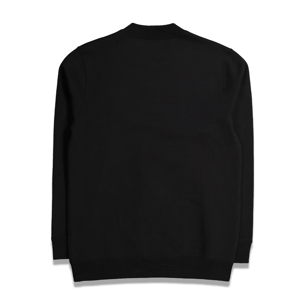 RS Archive Redux Sterling Patches Basic Sweater In Black