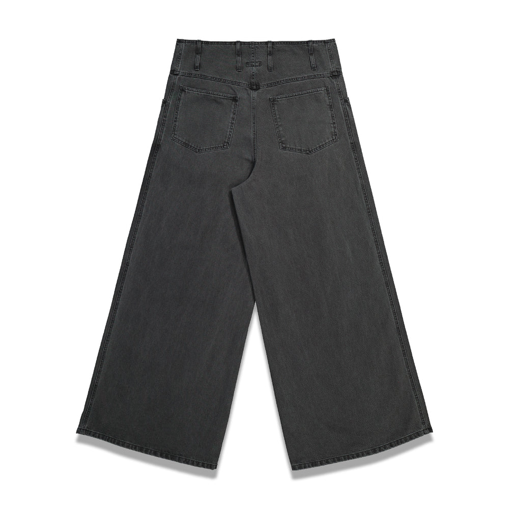 RS Archive Redux Bandana Oversized Denim Pants In Black