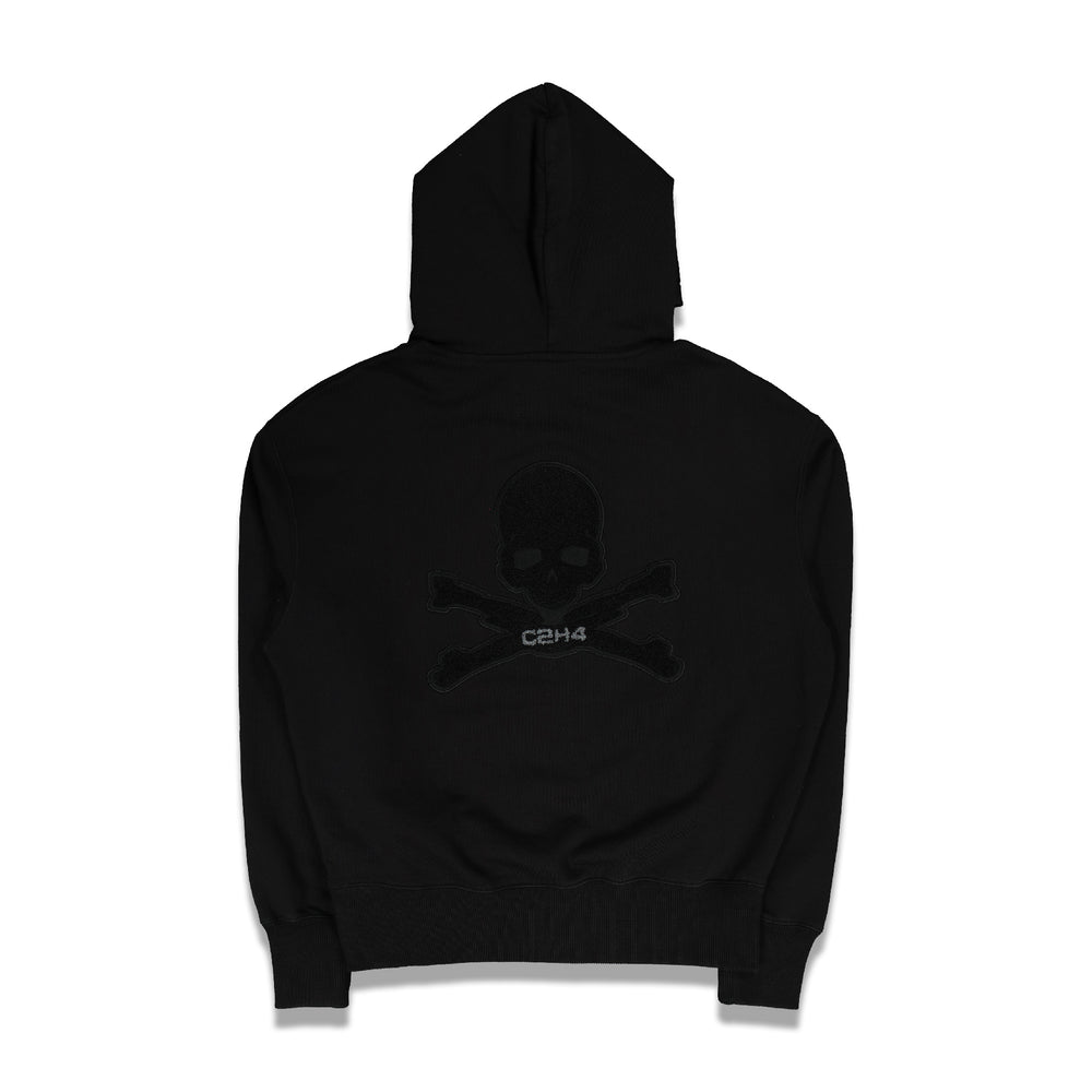 Applique Logo Hoodie In Black