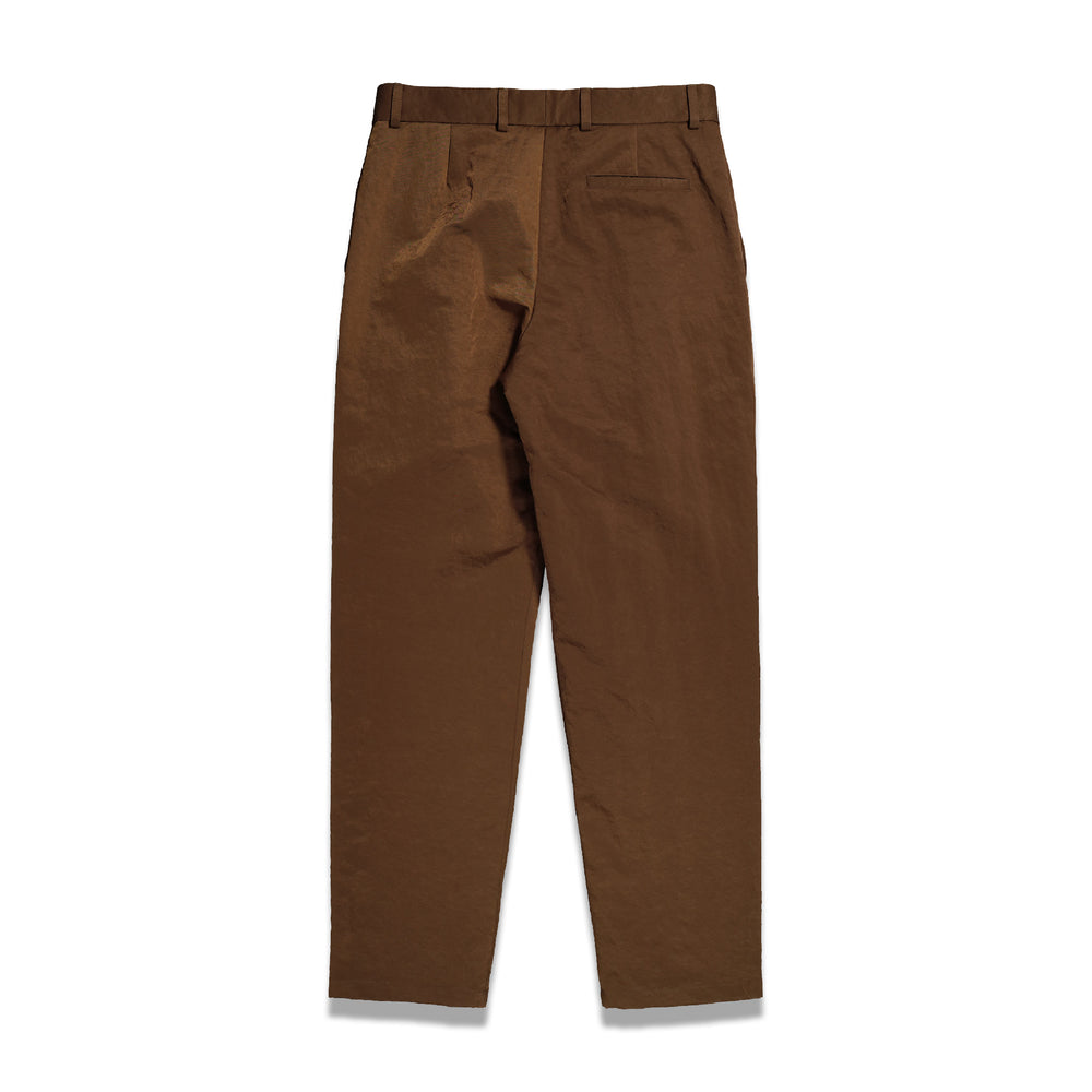 Tapered Nylon Pants In Umbre