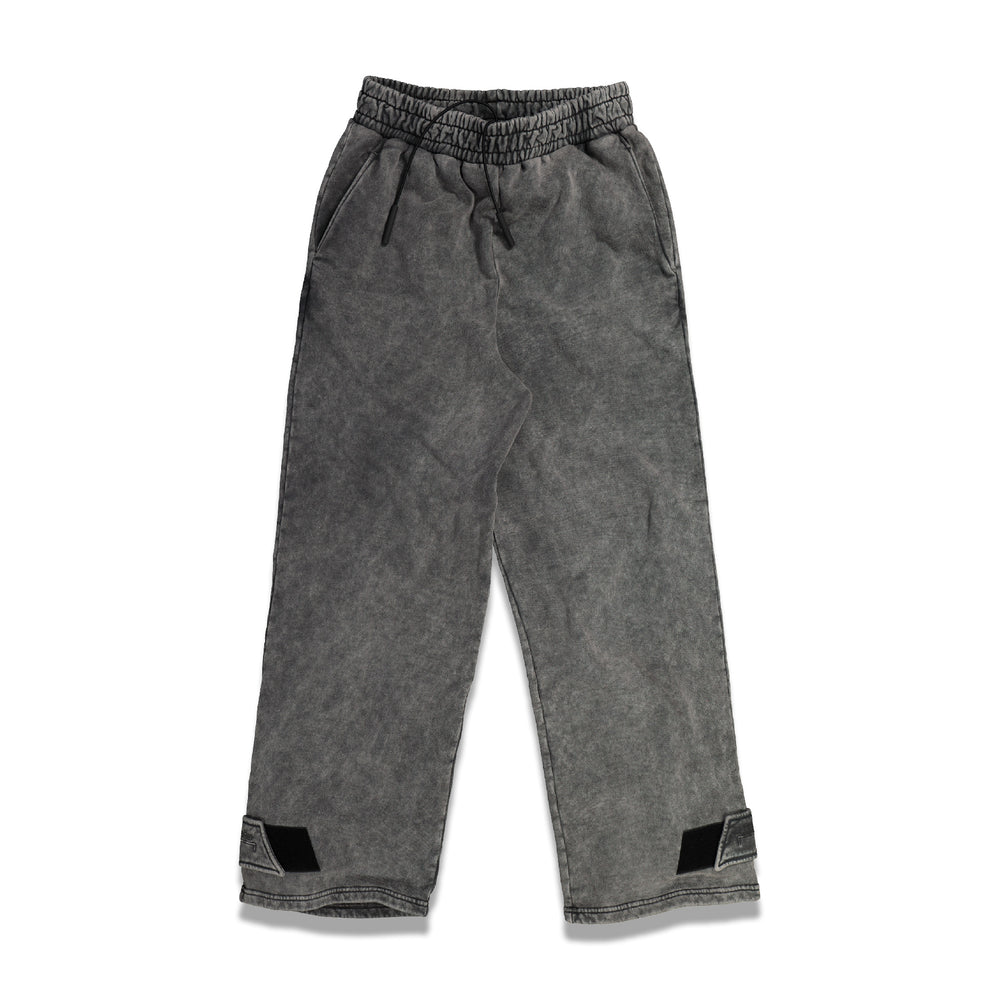 Fade Out Jersey Pants In Black