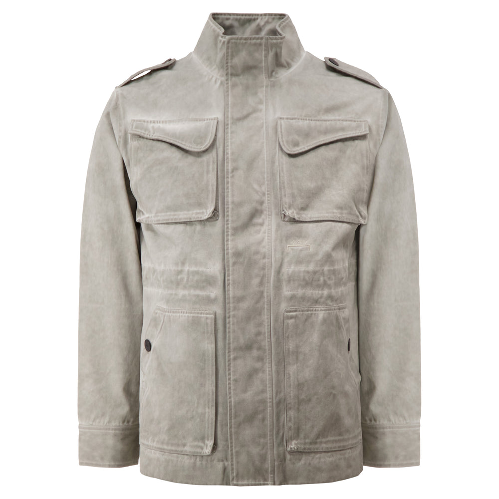 Fade Out Field Jacket In Stone