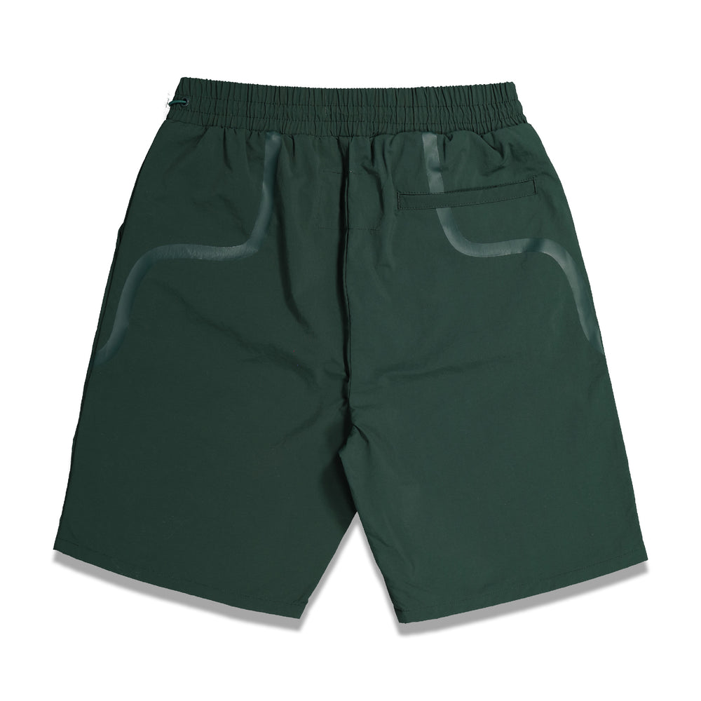 Bracket Taped Track Shorts In Teal