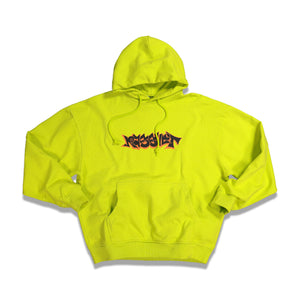 RASSVET Logo Hoodie In Bright Yellow