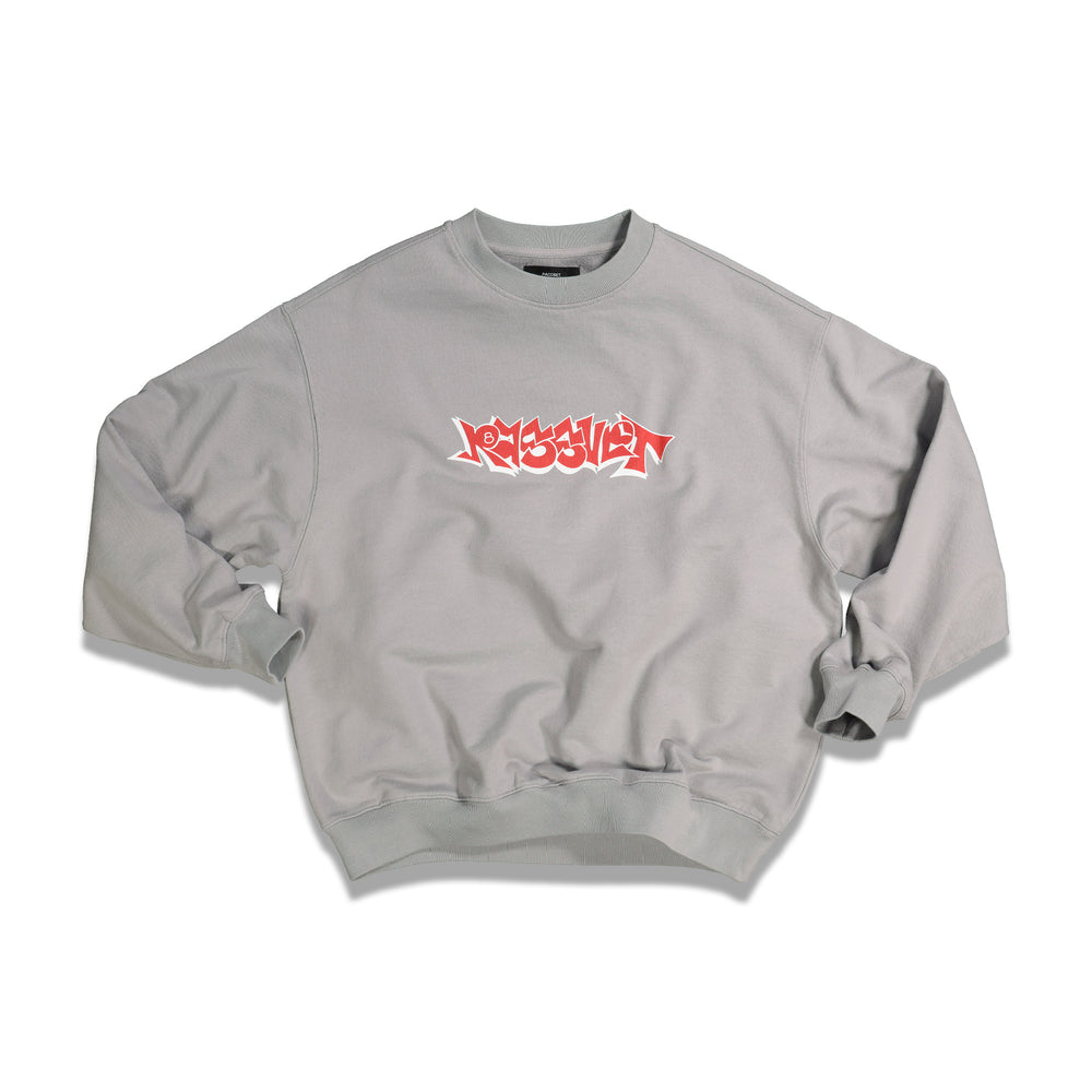 Load image into Gallery viewer, RASSVET Logo Crewneck In Grey