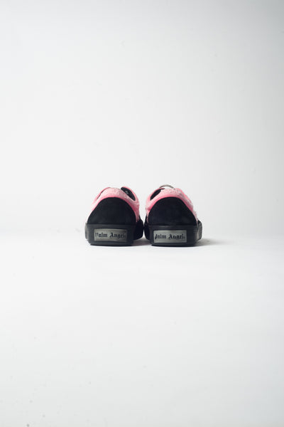 Palm Angels Distressed Sneaker In Black/Pink