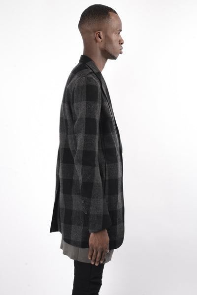 Rick Owens Cyclops Jacket In Plaid