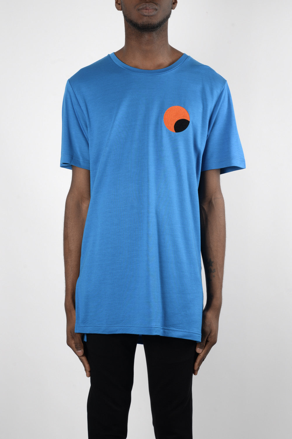 Rochambeau Sunset T-Shirt In Anita Blue