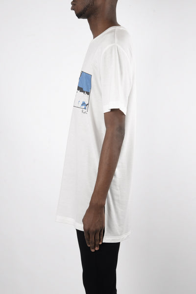 Rochambeau Traveler T-Shirt In White