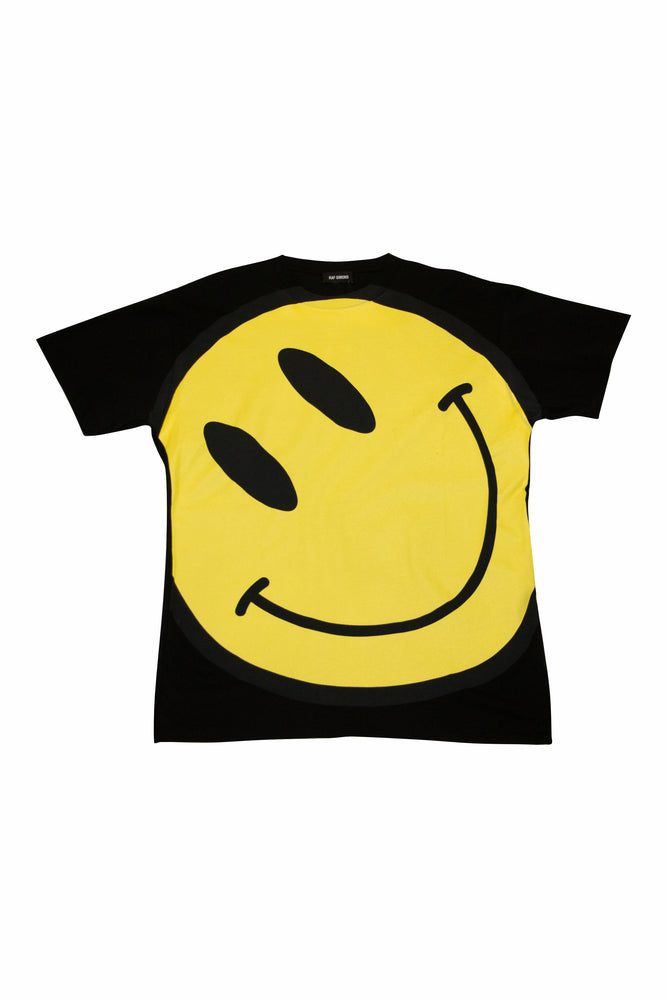 Raf Simons Smiley Big Fit T-Shirt In Black