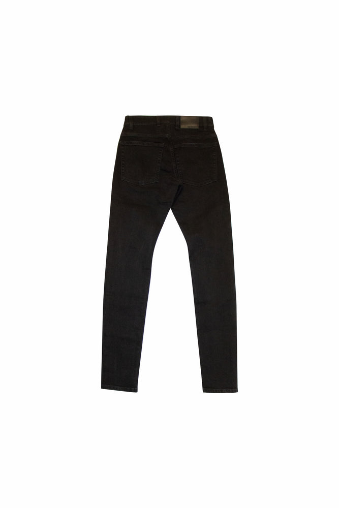 Load image into Gallery viewer, Represent Destroyer Denim In Jet Black - CNTRBND