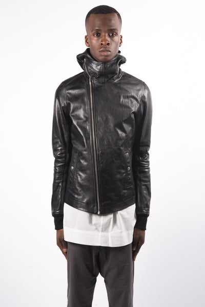 Rick Owens Bullet Jacket In Black