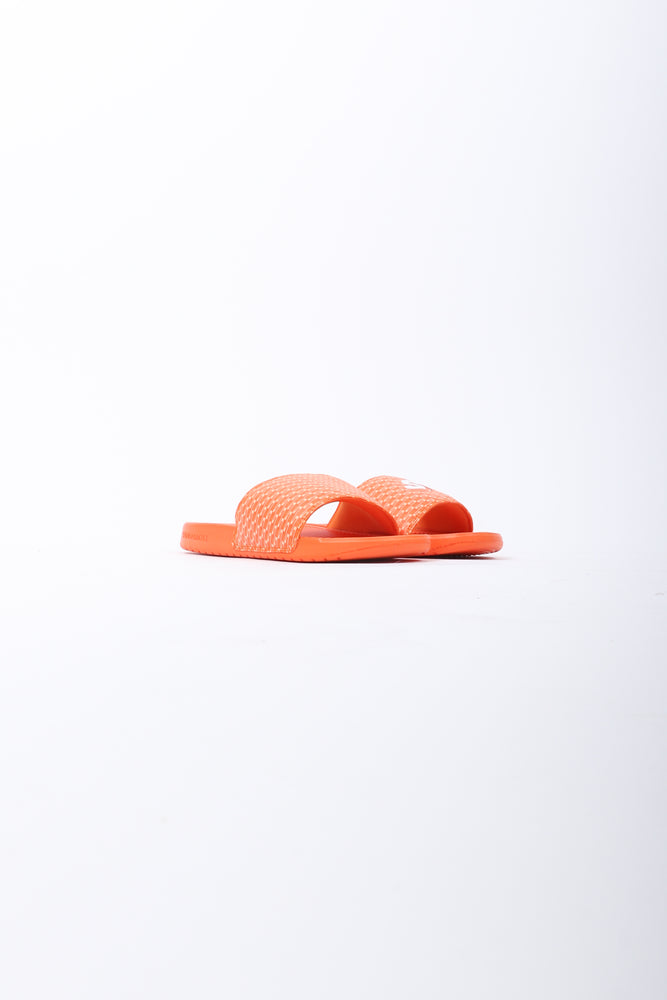 SandalBoyz Chroma Color Sandals In Mandarin - CNTRBND