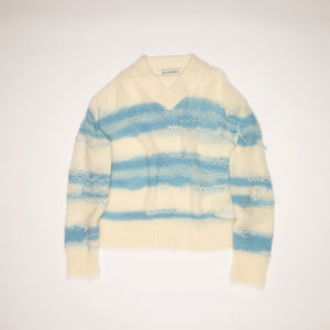 Acne Studios Keren Irregular Stripe Sweater