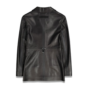 Alyx Womens Taped Leather Blazer In Black