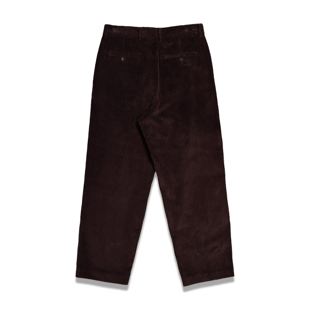 Second Layer Velluto Cord Trouser In Cocoa