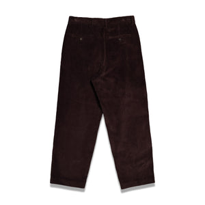 Second Layer Velluto Cord Trouser In Cocoa - CNTRBND