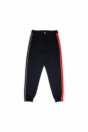 Load image into Gallery viewer, Thom Browne RWB Stripe Track Pants In Navy
