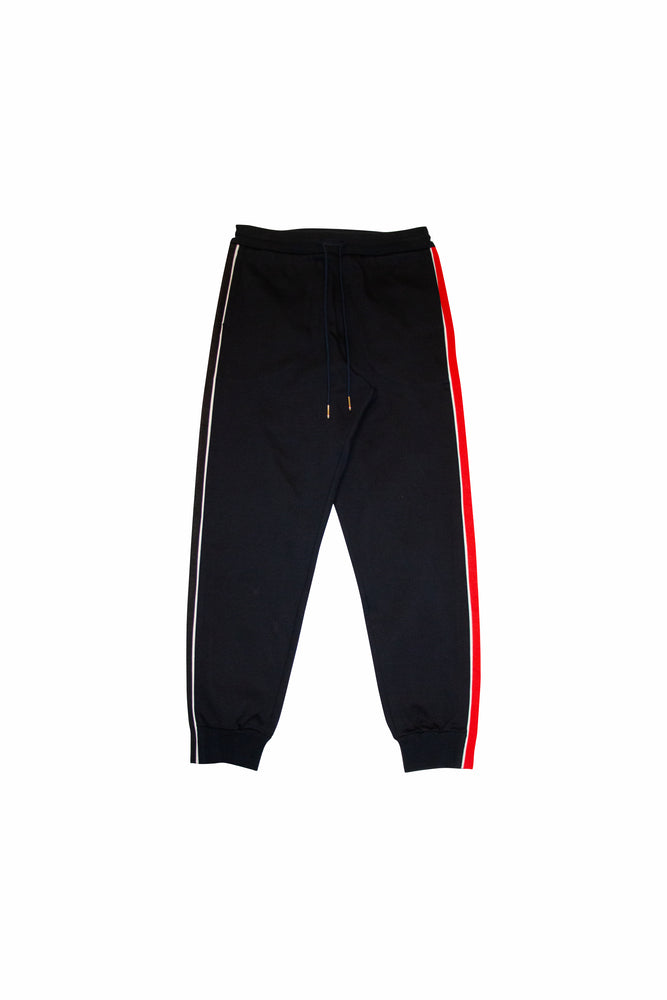 Thom Browne RWB Stripe Track Pants In Navy