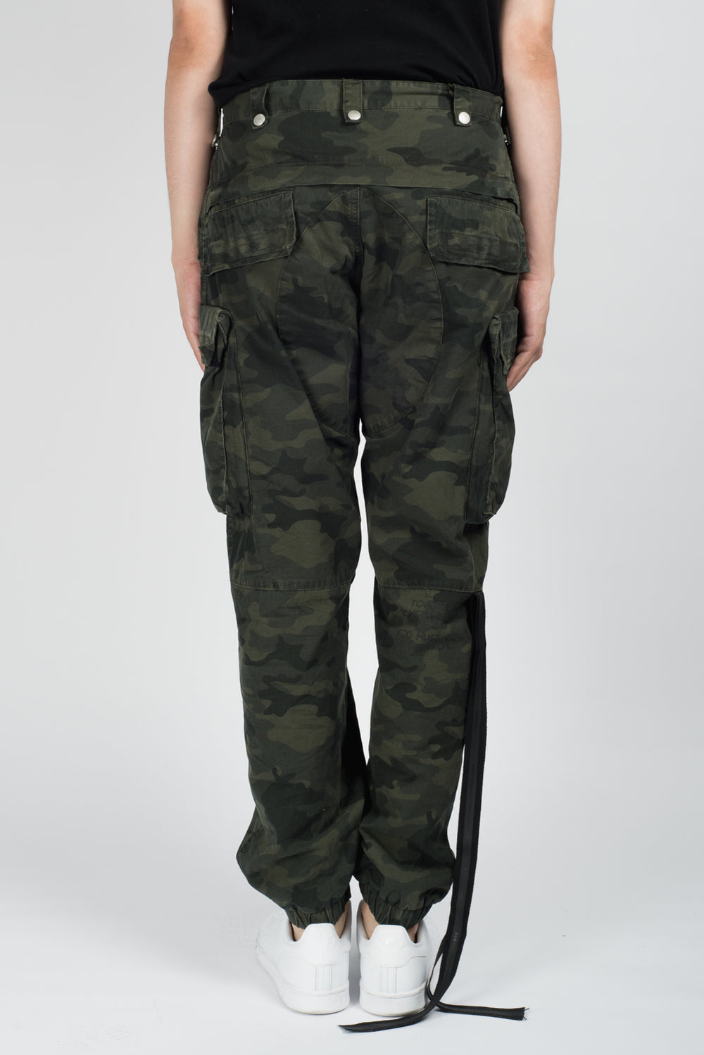 UNRAVEL Cotton Ripstop Cargo Pants In Camo