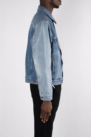 Load image into Gallery viewer, OFF-WHITE Denim Jacket In Blue