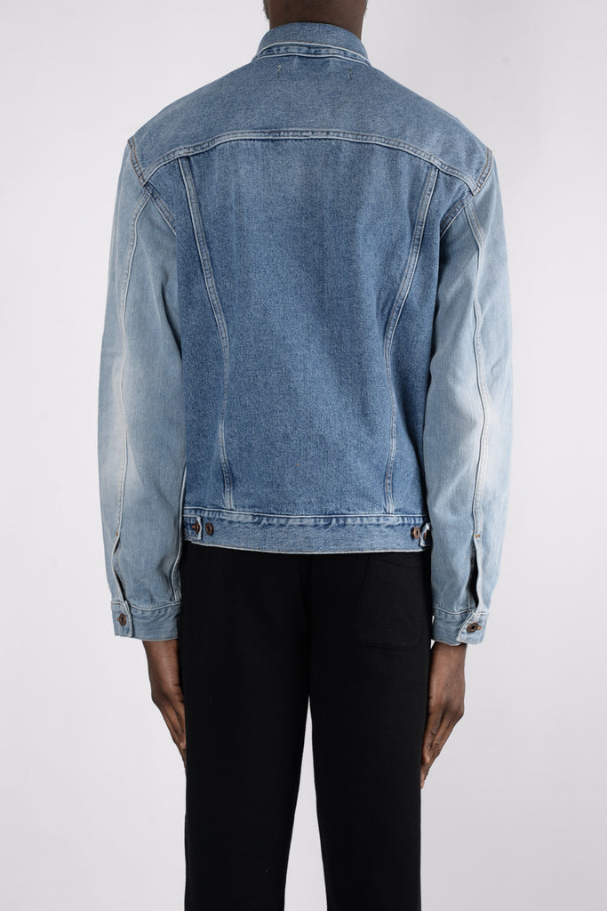 OFF-WHITE Denim Jacket In Blue