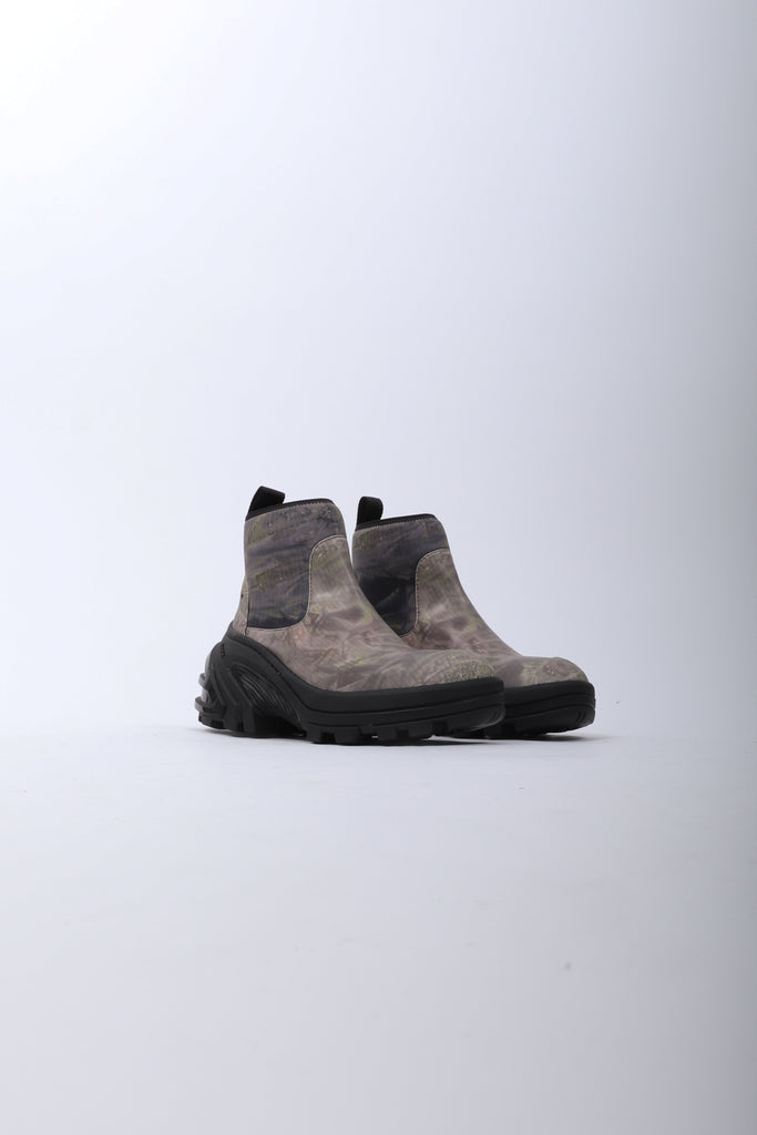 Alyx Fixed Sole Mid Boot In Camo Green
