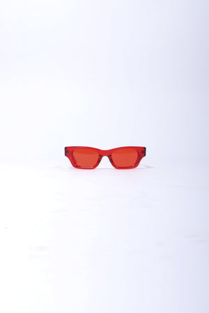 AMBUSH Ray Sunglasses In Red