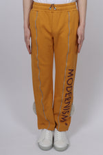 A Cold Wall Felpa Modernism Trousers In Mustard - CNTRBND