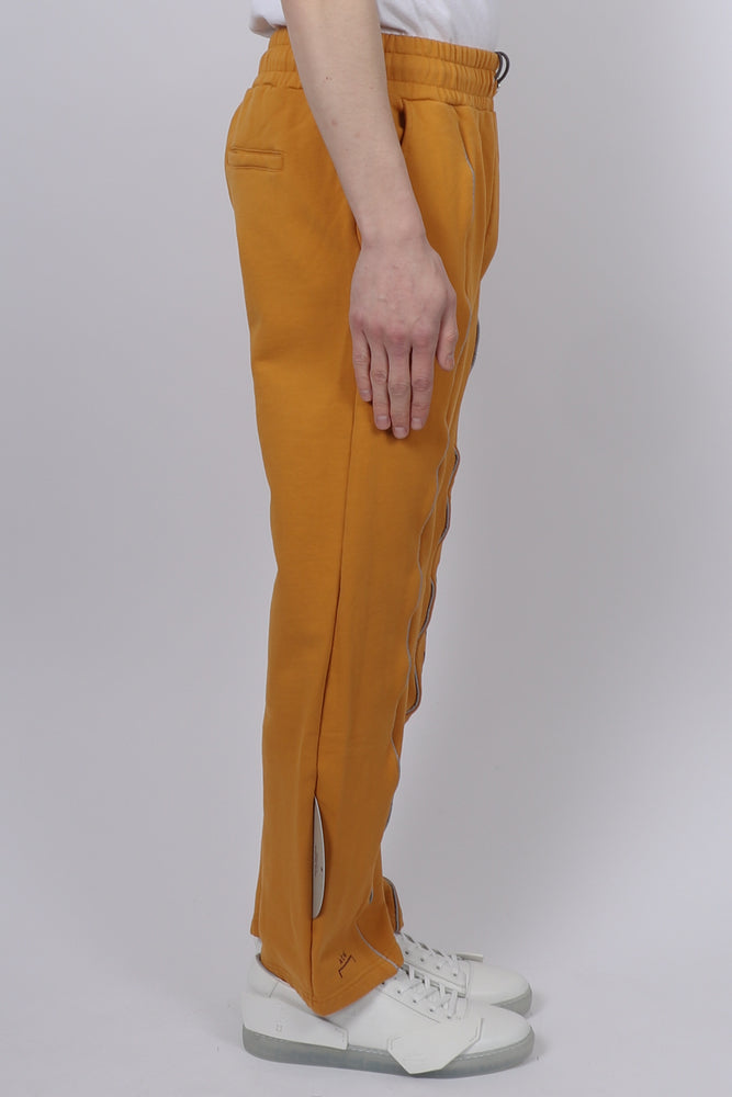 A Cold Wall Felpa Modernism Trousers In Mustard