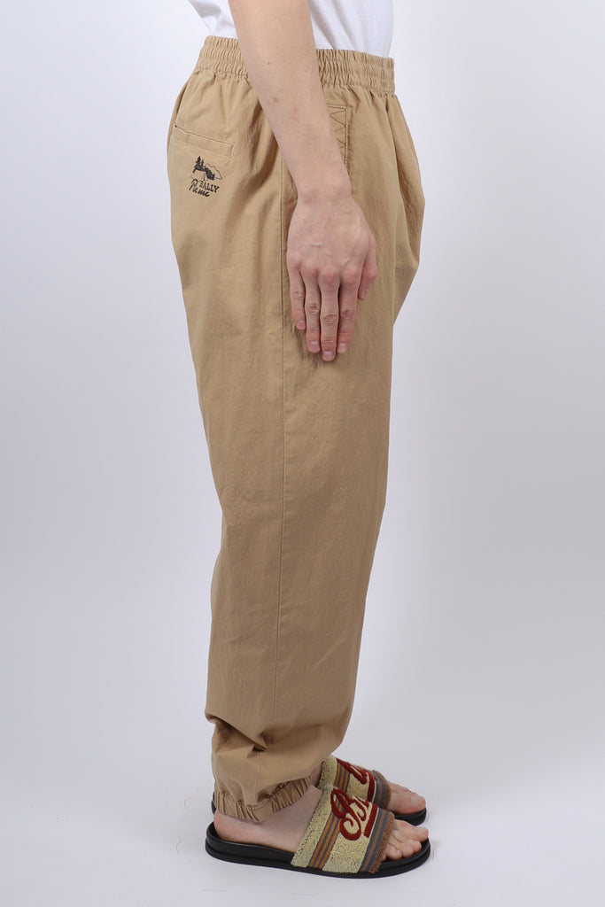 BALLY Cotton Trackpant In Khaki